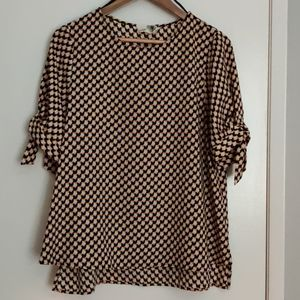 Cute retro vibe blouse